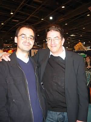 Graham & Jeremie at the Salon Du Livre, 2008