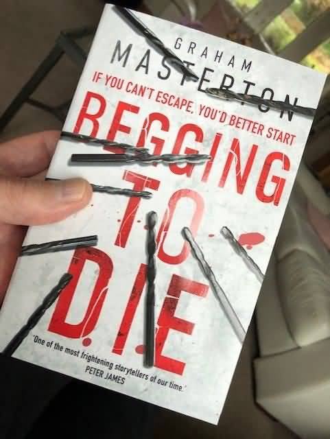 Begging To Die PB cover
