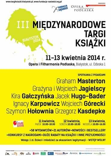 Bialystok poster, Poland, April 2014