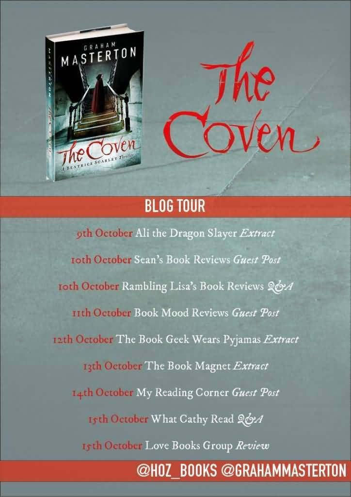 The Coven Blog Tour poster
