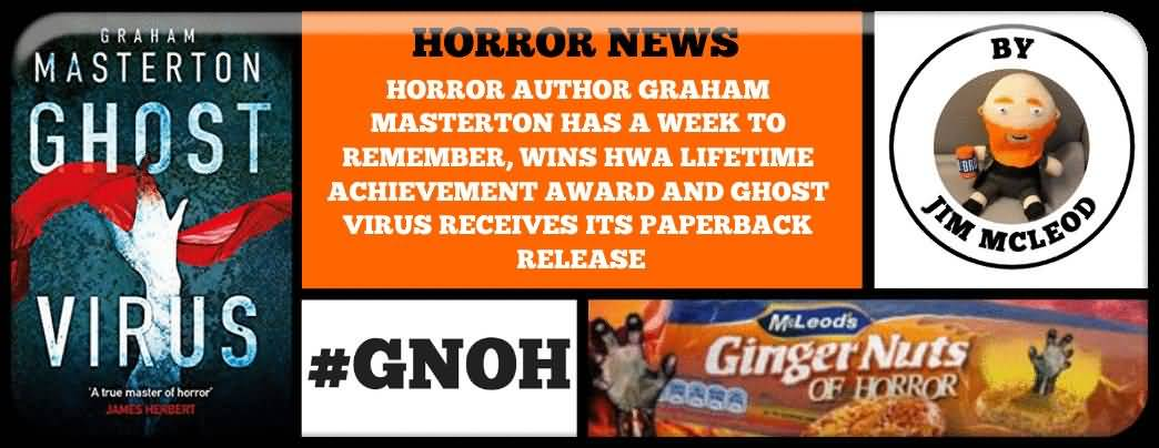 HWA award - Ginger Nuts of Horror